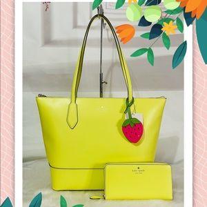 NWT Kate Spade Braelynn Tote Bag and wallet